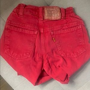 Boys size 6 little red Levi's